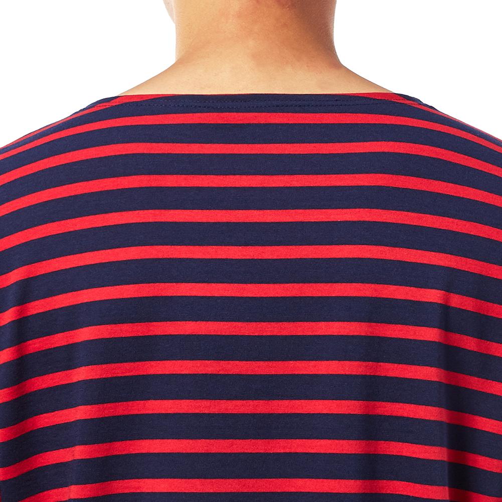 세인트제임스(SAINT JAMES) 밍콰이어 모던 스트라이프 9858 57 남여공용 긴팔티셔츠