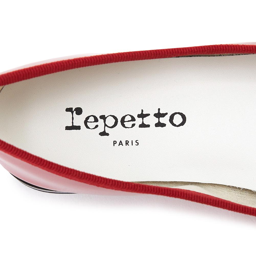 레페토(REPETTO) 산드리옹 유광 V086V 1254 여자 플랫슈즈