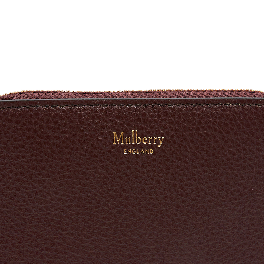멀버리(MULBERRY) 스몰 짚 어라운드 RL4897 205 K120 여자 명함/카드지갑
