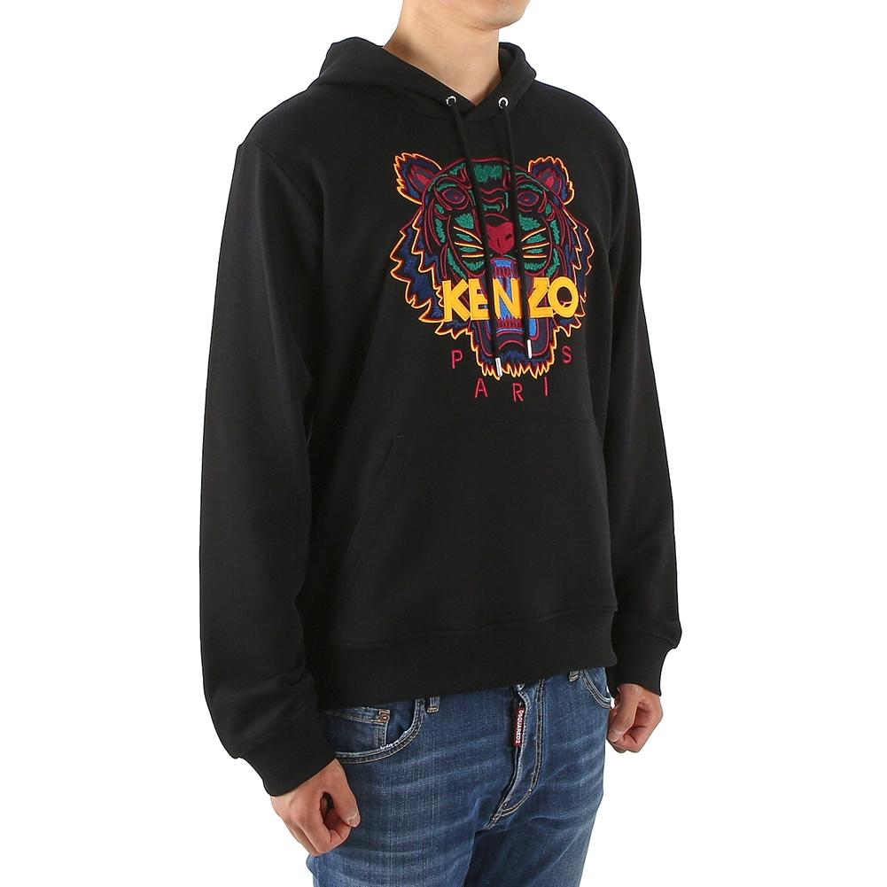겐조(KENZO) 타이거 5SW415 4XA 99 196 남자 후드 긴팔 기모 맨투맨 티셔츠
