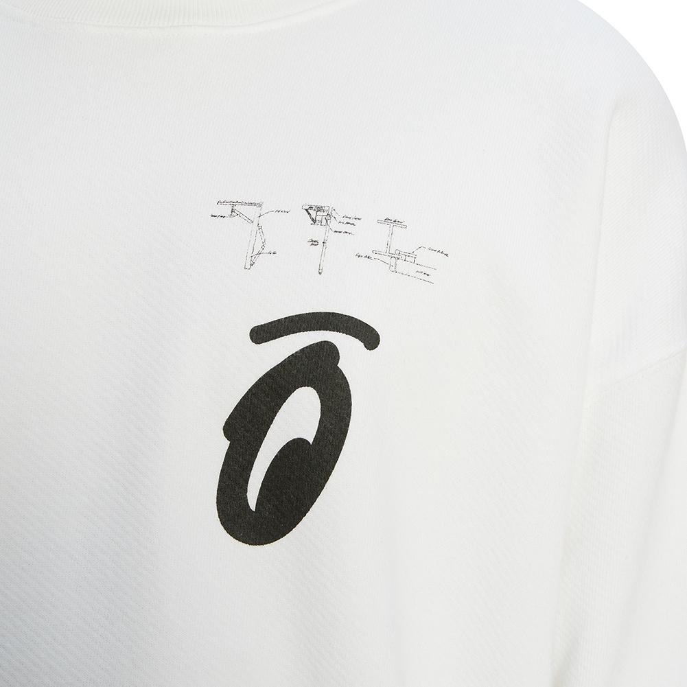오프 화이트(Off White) 스플릿티드 애로우 오버 OMBA035E 19D25010 0110 남자 긴팔 맨투맨 티셔츠