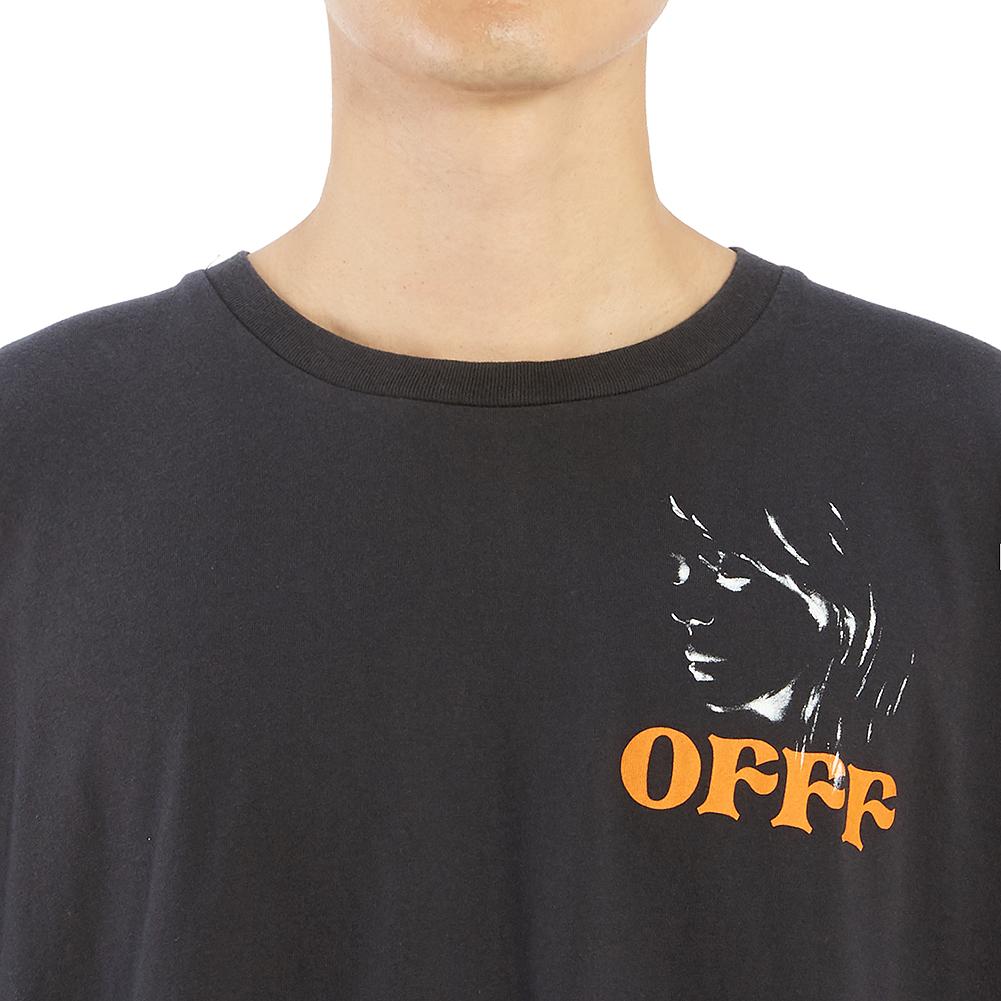 오프 화이트(Off White) 우먼 포트레이트 오버 OMAA038F 19185014 1088 남자 반팔티셔츠