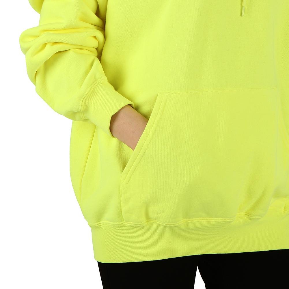 발렌시아가(BALENCIAGA) BB 로고 후드 583222 TFV61 7072 여자 긴팔 맨투맨 티셔츠