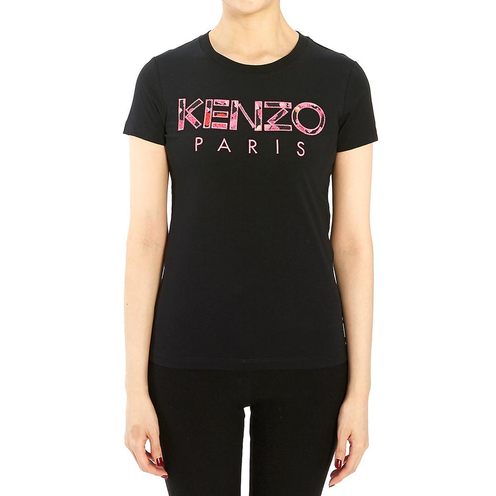 겐조(KENZO) 로고 2TS701 990 99 196 여자 반팔티셔츠