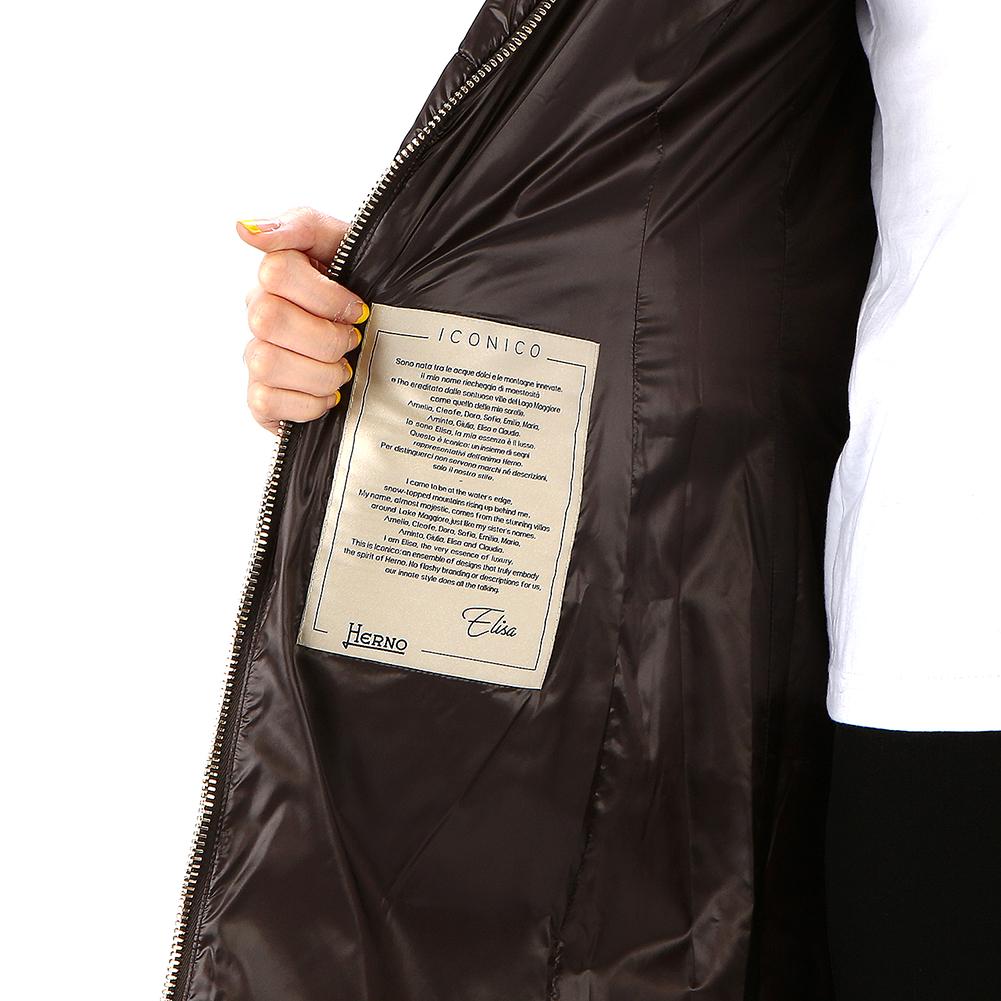 에르노(HERNO) 폭스퍼 PI0650DIC 12017 8993 여자 패딩 점퍼 자켓