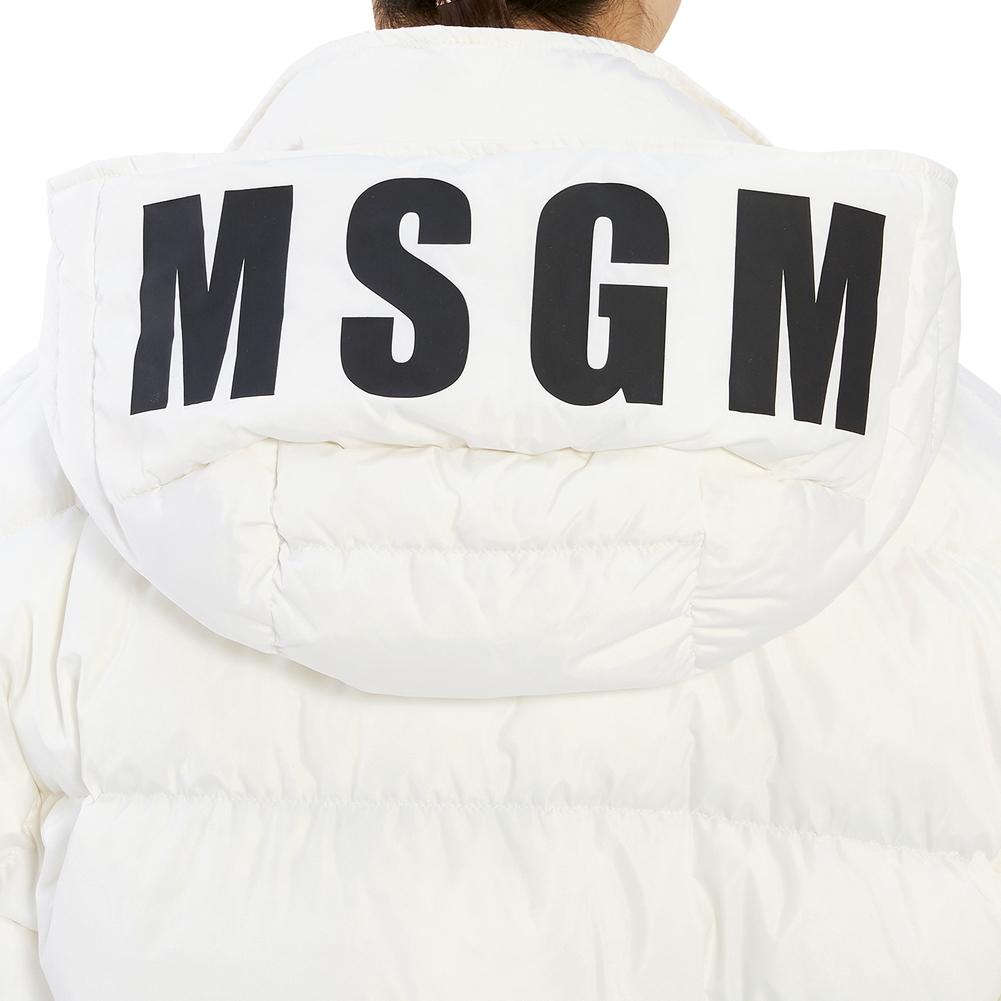엠에스지엠(MSGM) 로고 2741MDH24X 195752 01 여자 롱 패딩 자켓