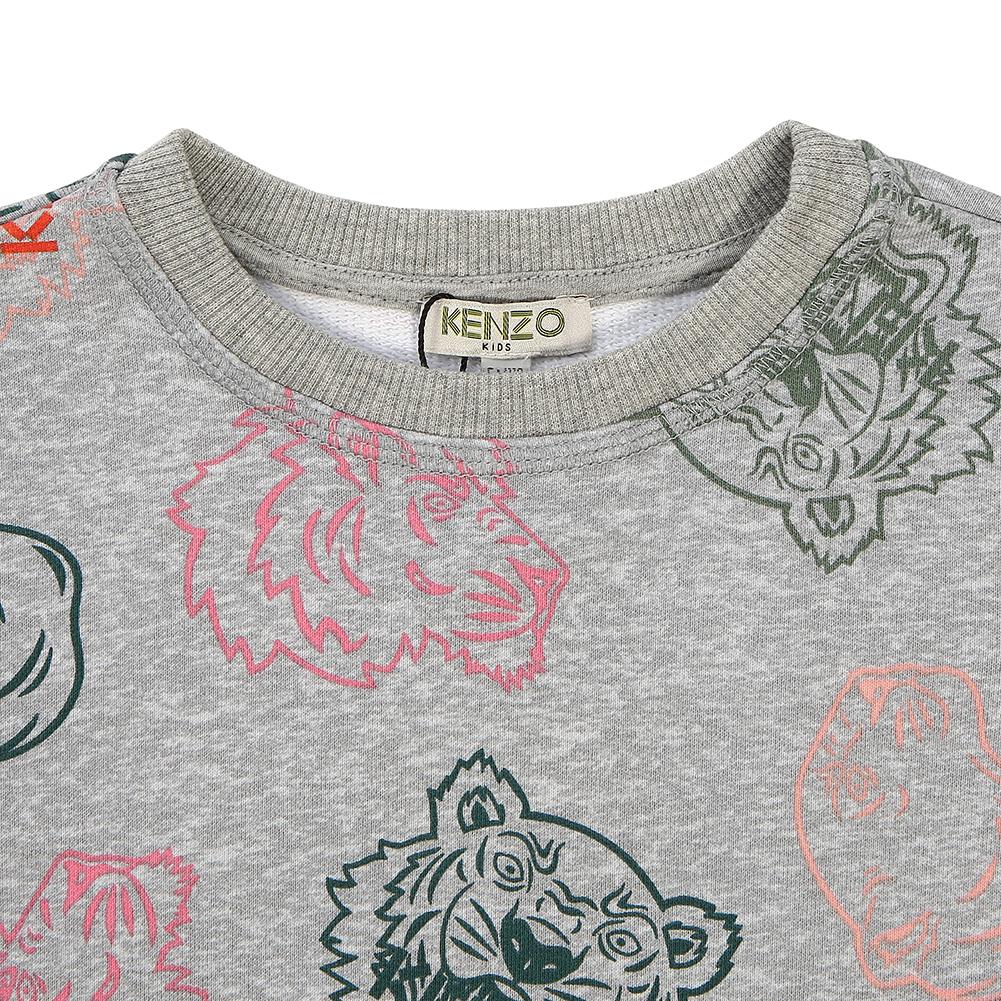 겐조키즈(KENZO KIDS) 크레이지 정글 KP15168 25 8A12A 키즈 긴팔 맨투맨 티셔츠 (성인착용가능)