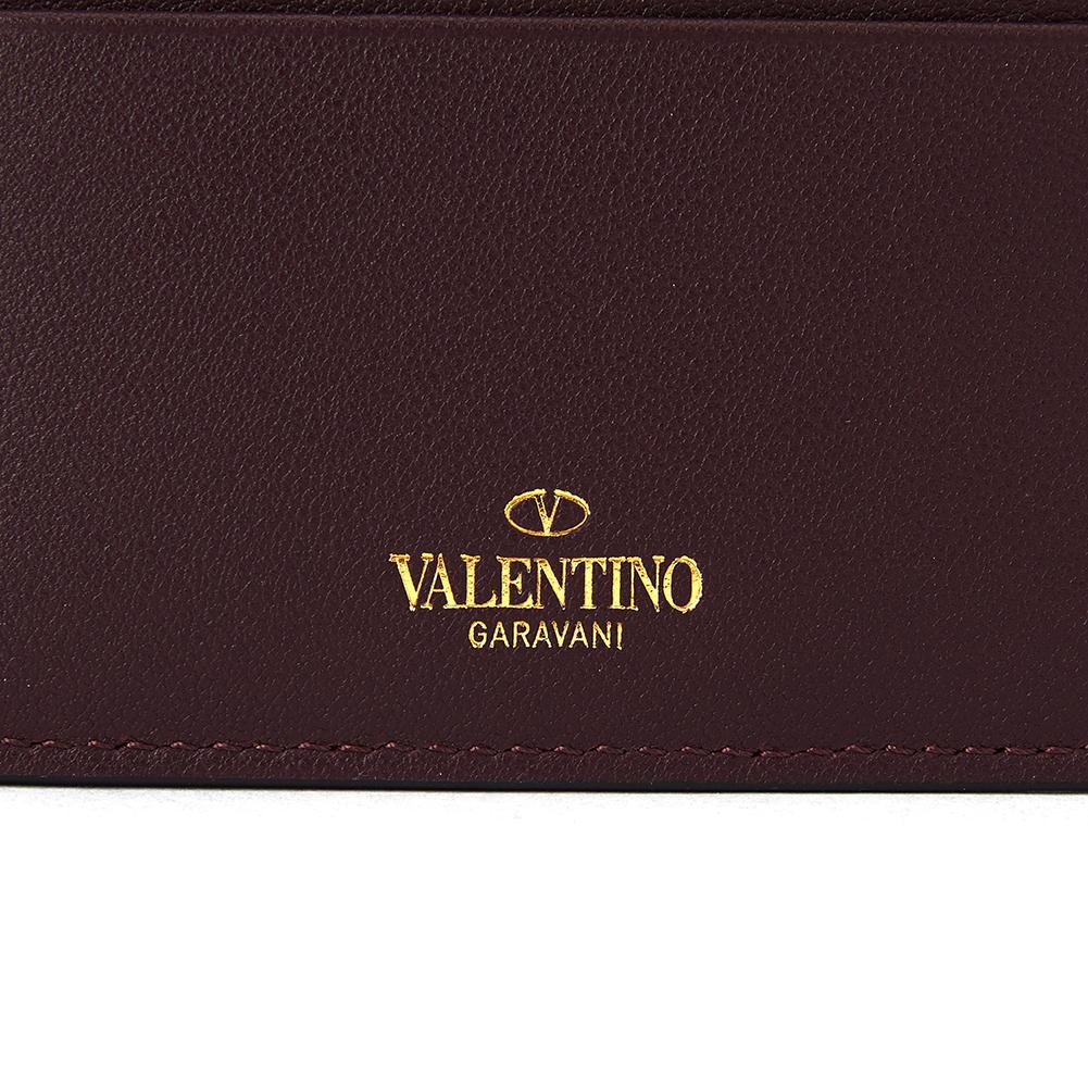 발렌티노 가라바니(VALENTINO GARABANI) 락스터드 SW2P0486BOL U26 공용 명함/카드지갑