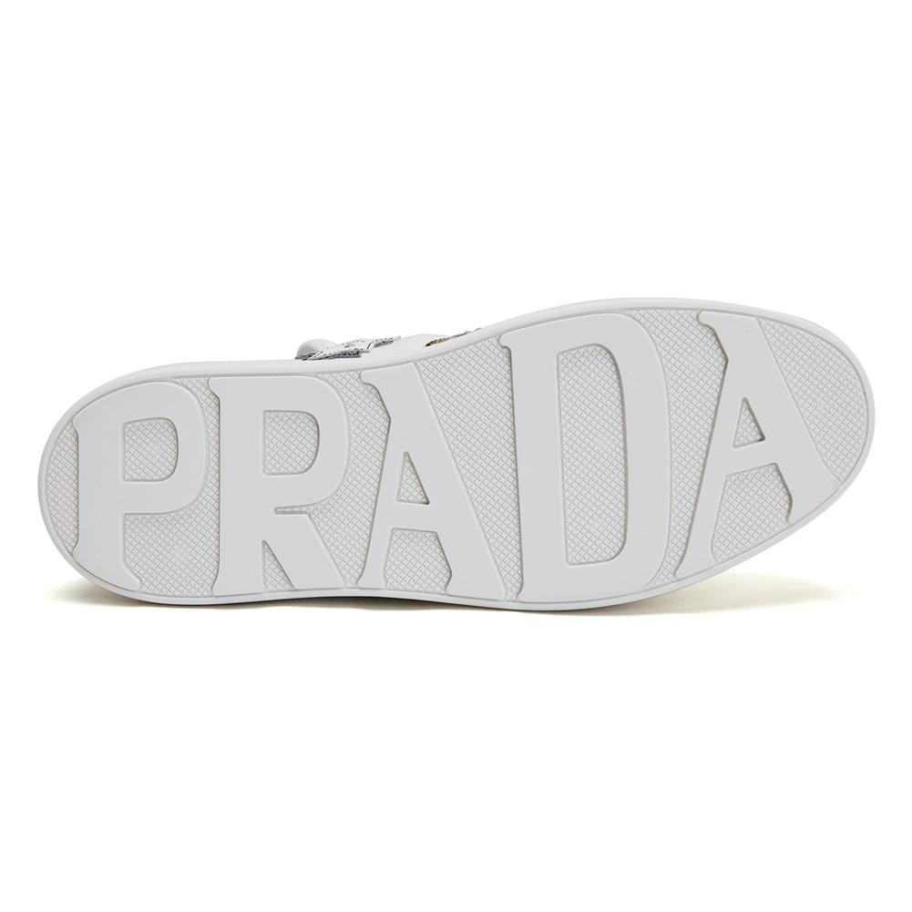 프라다(PRADA) 하트 패치 1E319L 3I8N F0009 여자 스니커즈