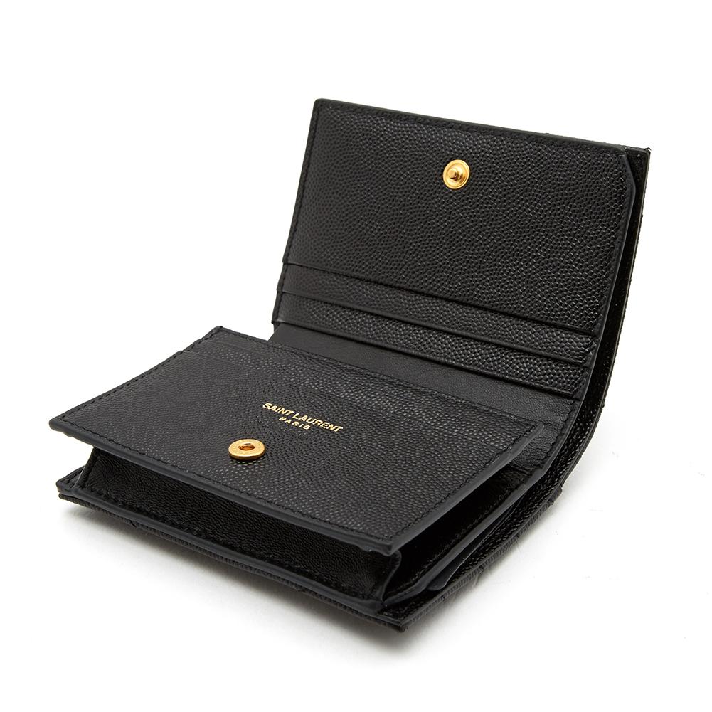 생로랑(SAINT LAURENT) 모노그램 마틀라세 530841 BOWA1 1000 여자 명함/카드지갑