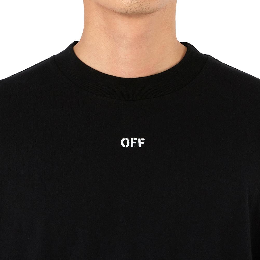 오프 화이트(Off White) 디아그 스컬 마크 OMAB021S 19185017 1088 남자 긴팔티셔츠