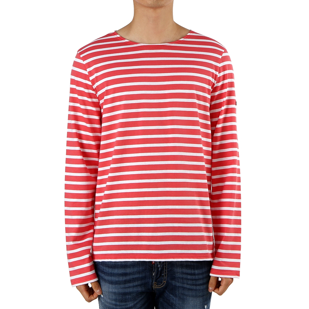 세인트제임스(SAINT JAMES) 밍콰이어 모던 스트라이프 9858 H 남여공용 긴팔티셔츠