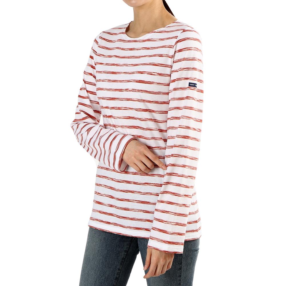 세인트제임스(SAINT JAMES) 밍콰이어 모던 스트라이프 9858 W4 남여공용 긴팔티셔츠