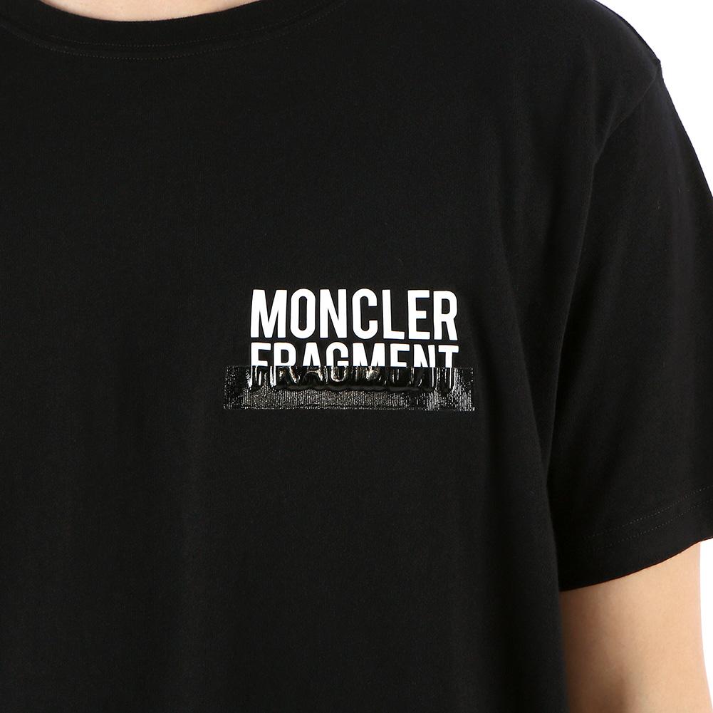 몽클레어(MONCLER) 지니어스 프래그먼트 8000550 8391Q 999 남자 반팔티셔츠