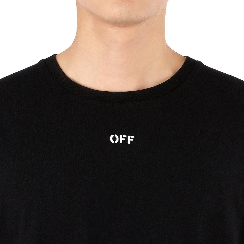 오프 화이트(Off White) 디아그 스컬 슬림 OMAA027S 19185017 1088 남자 반팔티셔츠