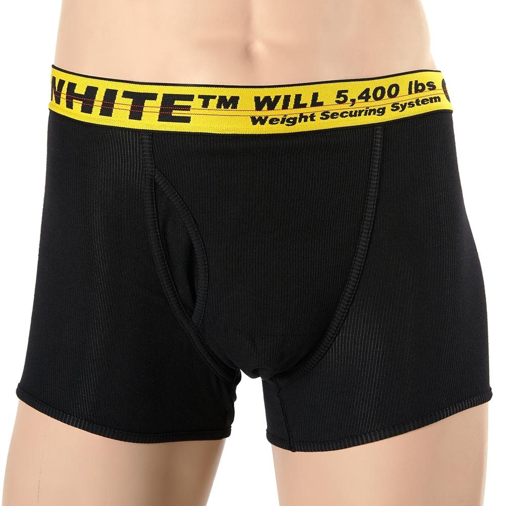 오프 화이트(Off White) 인더스트리얼 스트레치 복서 OMUA001S 19C37041 1060 남자 언더웨어 (3종 세트)