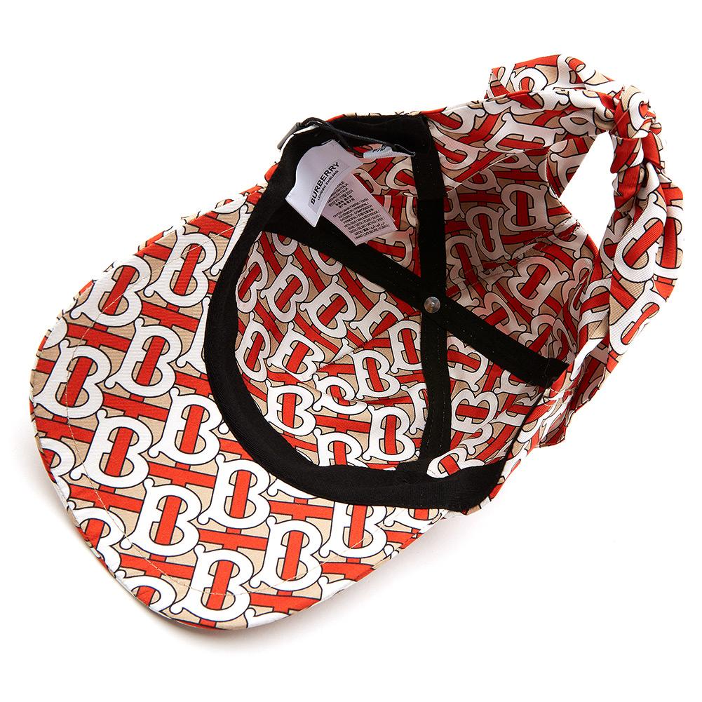버버리(BURBERRY) 모노그램 FOULARD BASEBALL CAP 8013975 실크 모자